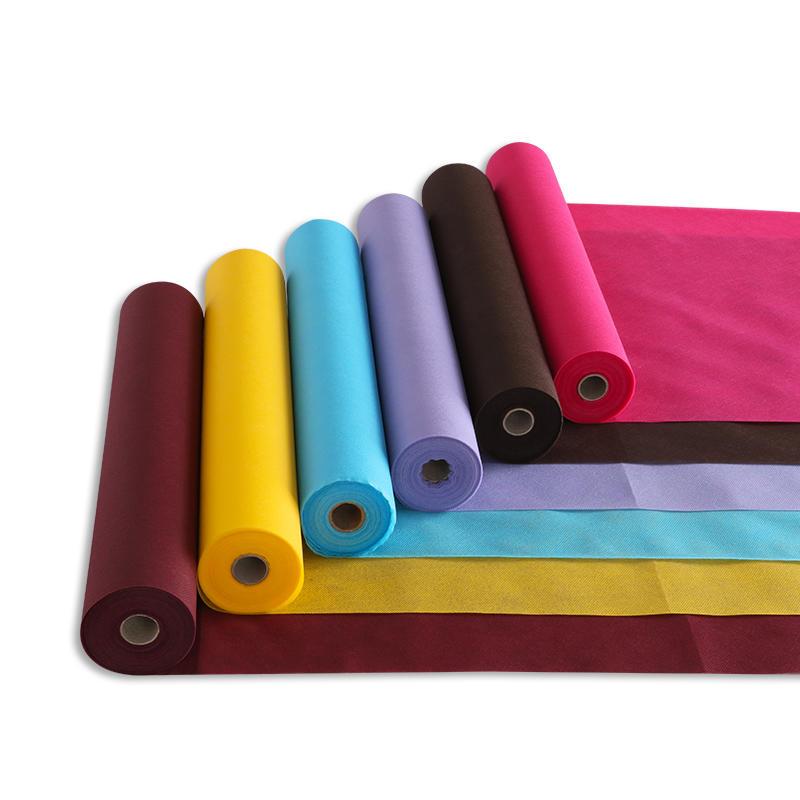 Colorful PP spunbond non woven fabric 100%polypropylene nonwoven fabric
