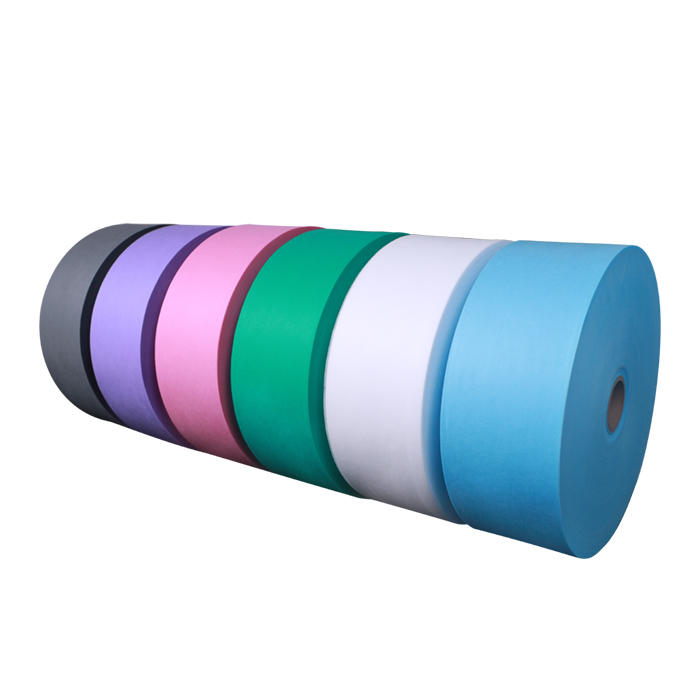 polypropylene non woven fabric rolls raw material surgical mask pp spunbond nonwoven fabric