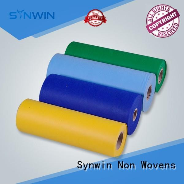 Synwin Non Wovens Brand color supplies custom pp non woven fabric
