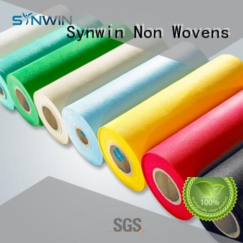 Quality Synwin Non Wovens Brand pp non woven fabric yellow quality