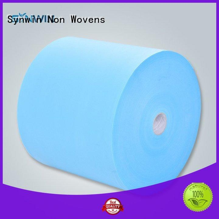 Blue disposable non woven