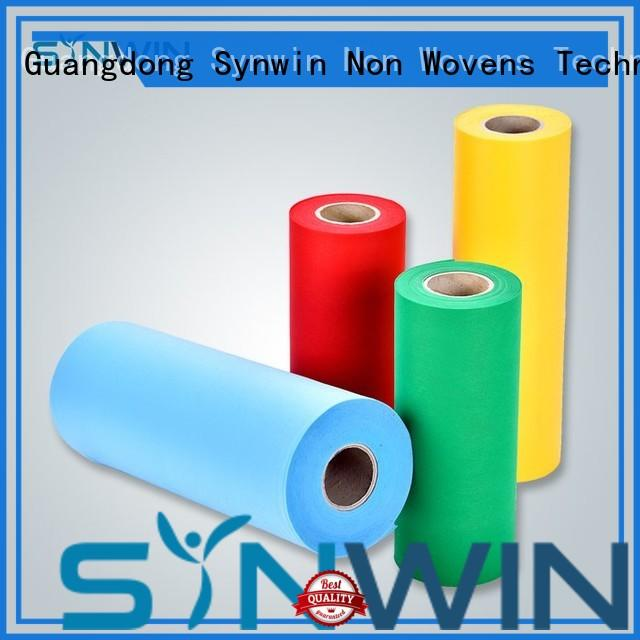 Synwin elogation pp non woven fabric directly sale for household