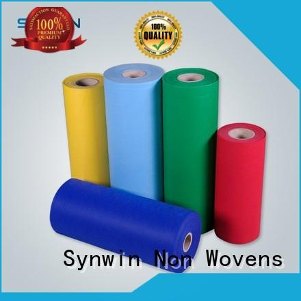 Synwin Non Wovens color pp woven fabric series for household