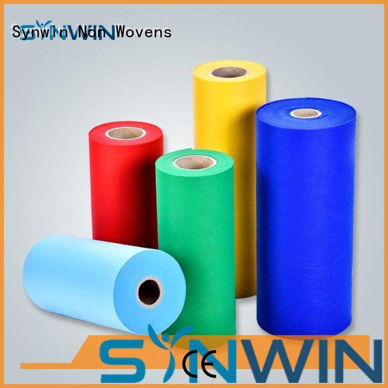 Synwin Non Wovens Brand ecofriendly spun diapers consumable spunbond polypropylene