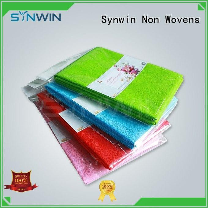 film material elogation OEM gift wrapping paper Synwin Non Wovens