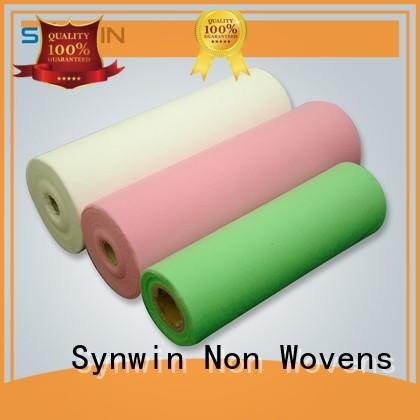 Hot dot pp woven fabric table top selling Synwin Non Wovens Brand
