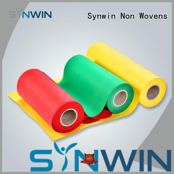 Synwin fabic pp non woven fabric customized for packaging