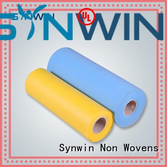 Synwin Non Wovens Brand colorful weed pp woven fabric manufacture