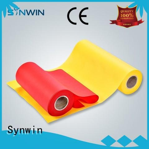 Synwin pp non woven fabric series for wrapping
