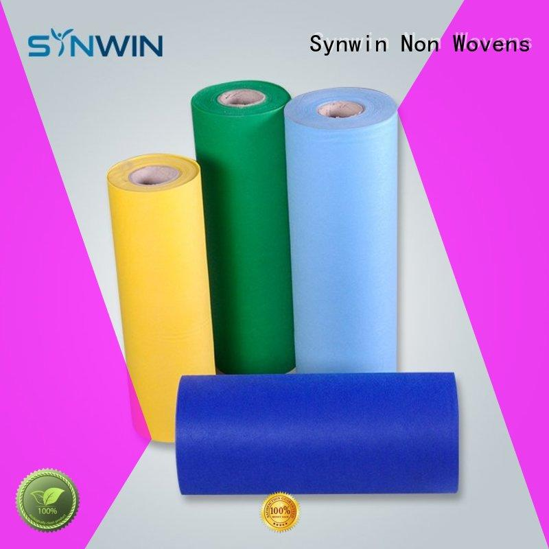 Quality Synwin Non Wovens Brand pp non woven fabric perforated roll