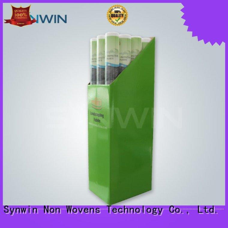 Synwin Non Wovens Brand using popular custom non woven polypropylene landscape fabric