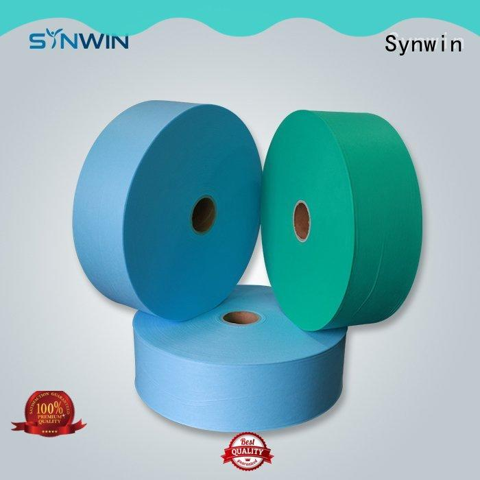 Synwin woven pp non woven fabric manufacturer for household