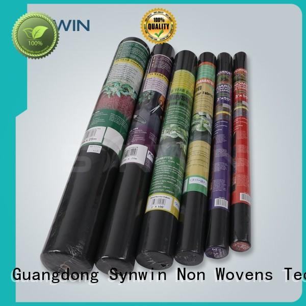 weed quality non woven fabric directly sale for outdoor Synwin Non Wovens
