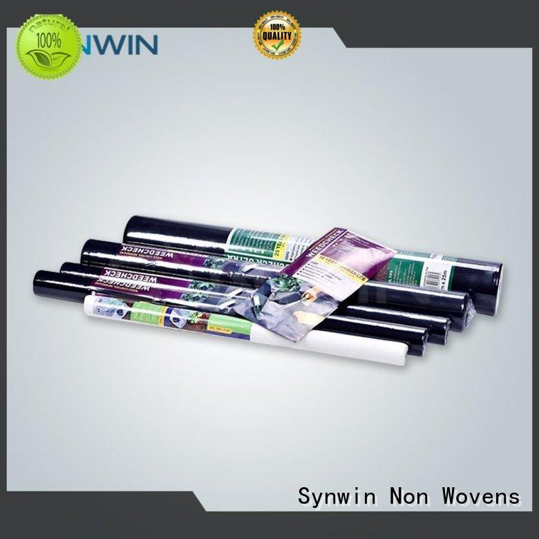 non woven polypropylene landscape fabric multi weed control fabric Synwin Non Wovens Brand