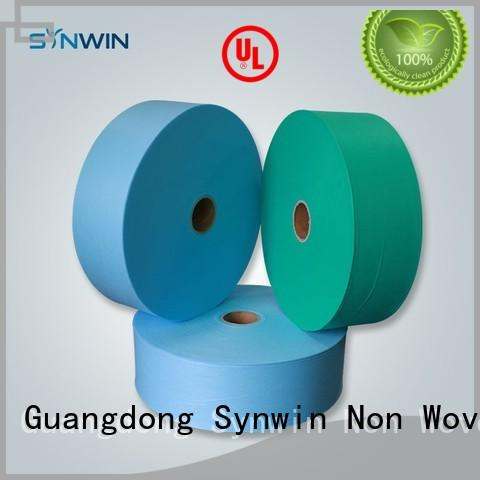 on Custom jumbo ss pp woven fabric Synwin Non Wovens disposable