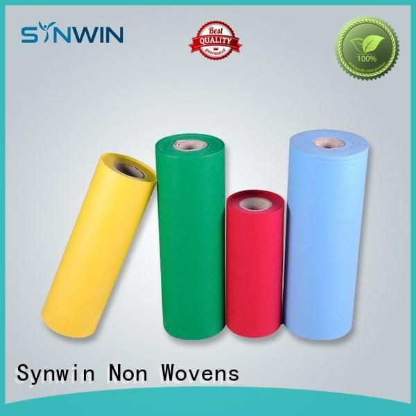 pp non woven fabric industrial jumbo 70gsm Synwin Non Wovens Brand company