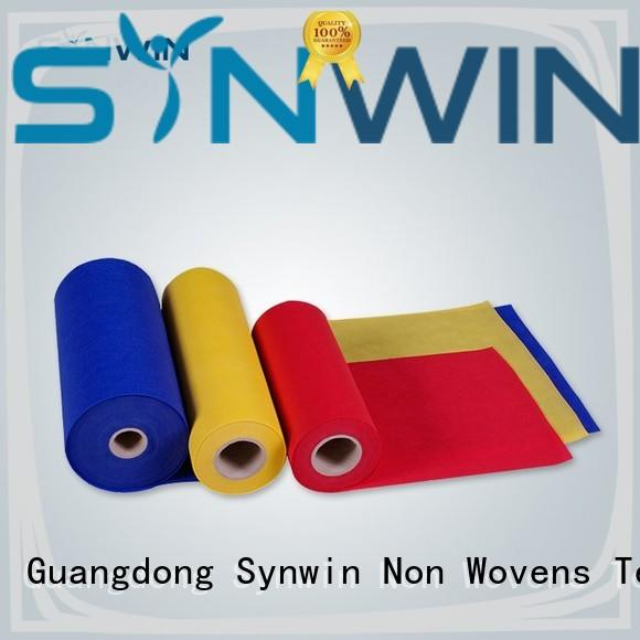 Synwin 100 pp non woven fabric customized for household