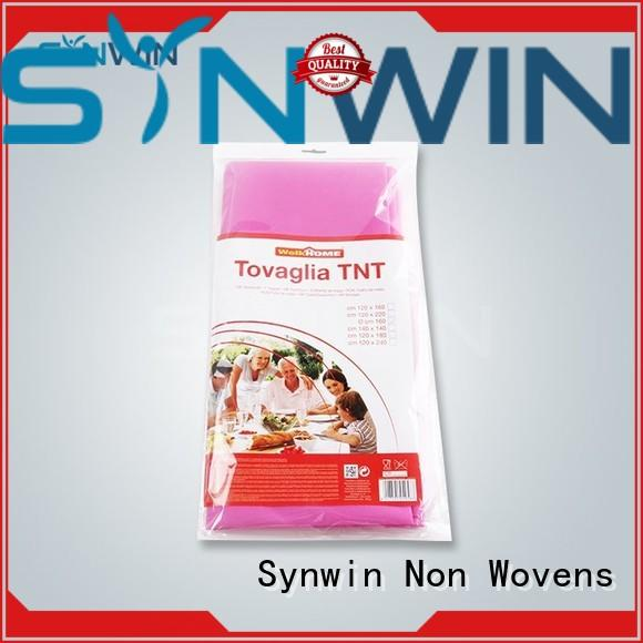 Synwin elegant non woven factory with good price for tablecloth
