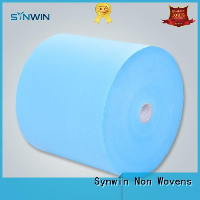 block color pp woven fabric professional cover Synwin Non Wovens company