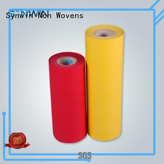 Synwin Non Wovens tnt pp woven fabric series for wrapping