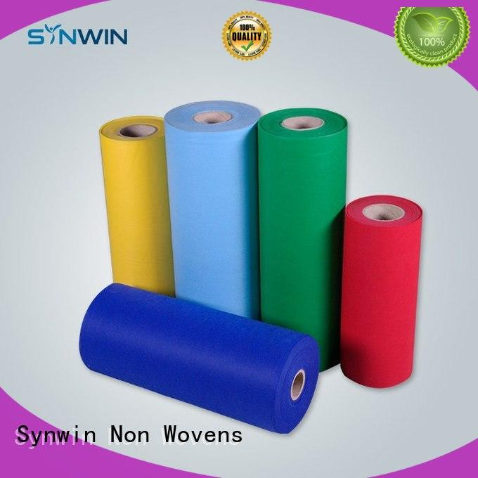 fabrics ear gown OEM pp woven fabric Synwin Non Wovens