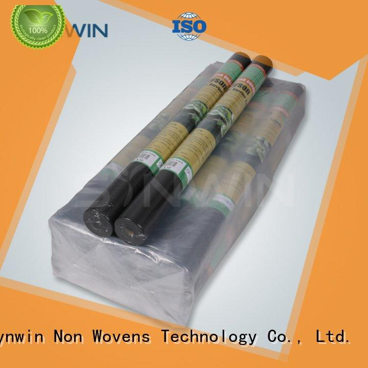 Custom block weed control fabric weed non woven polypropylene landscape fabric