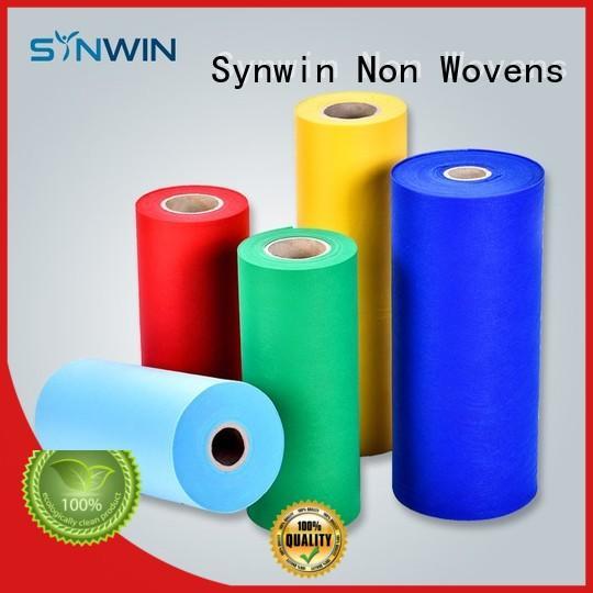 Synwin Non Wovens single spunbond polypropylene design for home