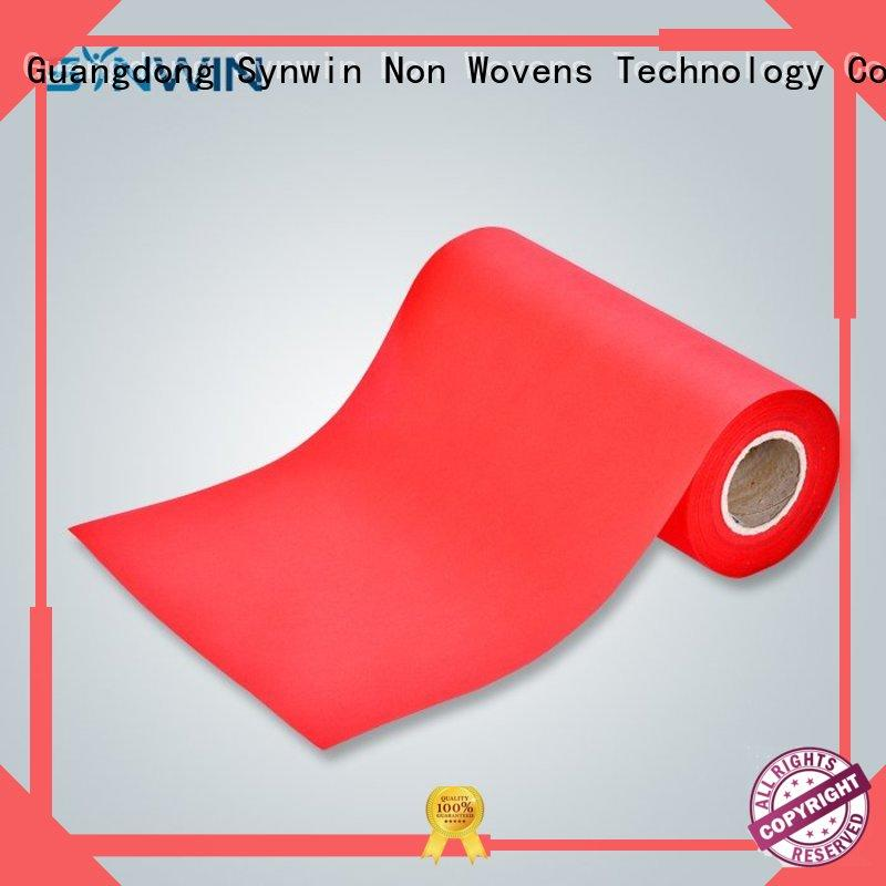 Synwin nonwoven pp non woven manufacturer for household