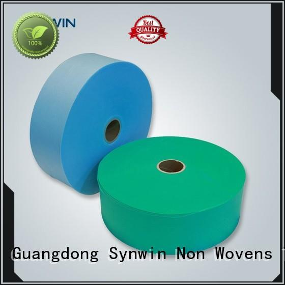 Synwin hydrophobic pp non woven fabric manufacturer for wrapping