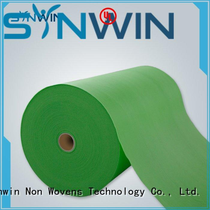 Synwin Non Wovens Brand hydrophobic sheet beddings custom pp non woven fabric