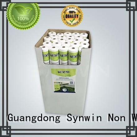 weed non woven polypropylene landscape fabric mat for farm Synwin Non Wovens