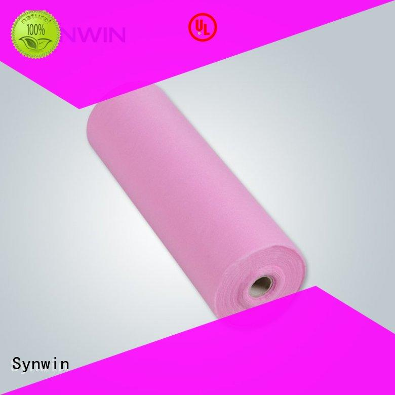 Synwin 100 spunbond polyester design for hotel