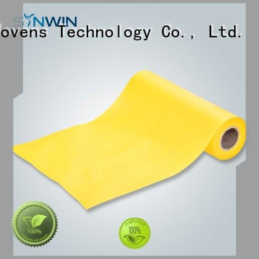Synwin apron pp non woven fabric customized for household