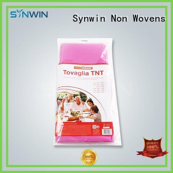 Synwin Non Wovens party table covers design for hotel