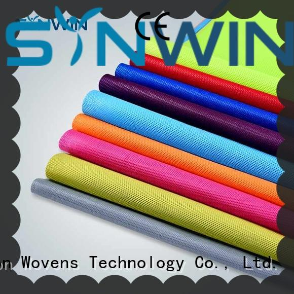 Synwin ear pp non woven fabric manufacturer for household
