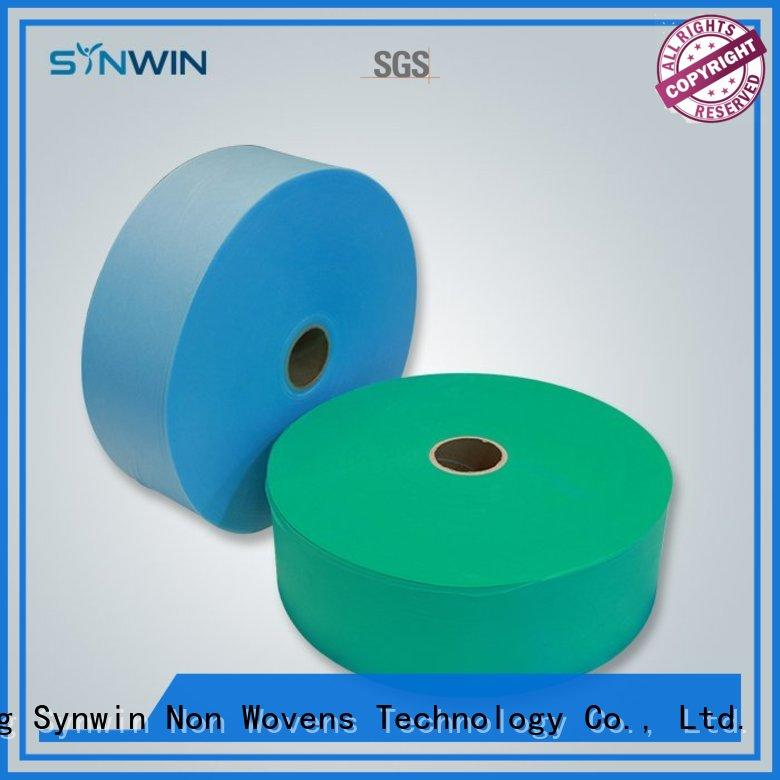 Synwin pp non woven fabric customized for wrapping
