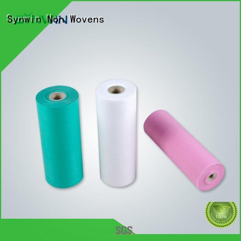 Synwin Wholesale Blue Pp Non Woven Fabric Medical Non Wovens