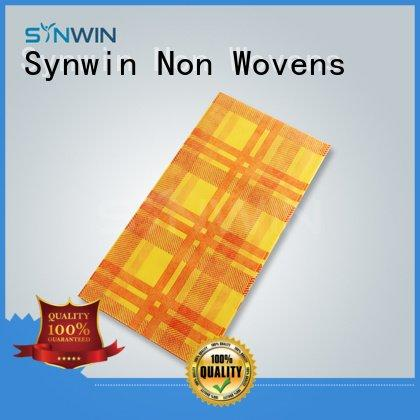 Synwin Non Wovens cloth table round table covers woven non