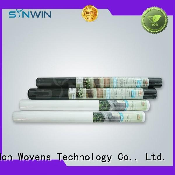 Synwin Non Wovens popular woven vs non woven landscape fabric manufacturer for garden
