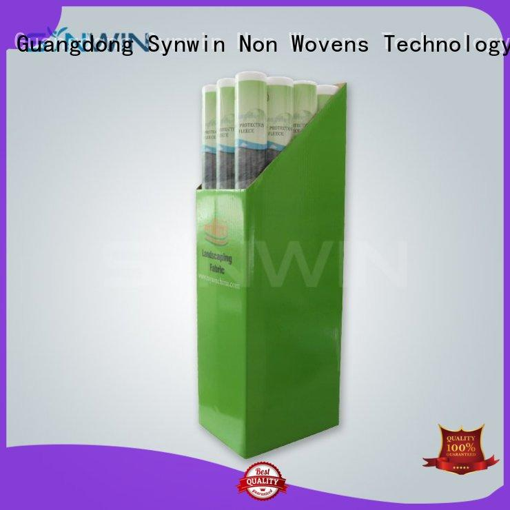 film bib bedsheet multifunctional non woven polypropylene landscape fabric Synwin Non Wovens Brand