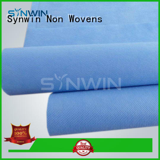 Synwin woven polypropylene fabric manufacturer for hospital