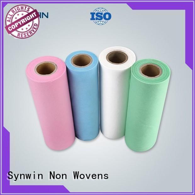 pp non woven fabric hygienic white Bulk Buy oem Synwin Non Wovens