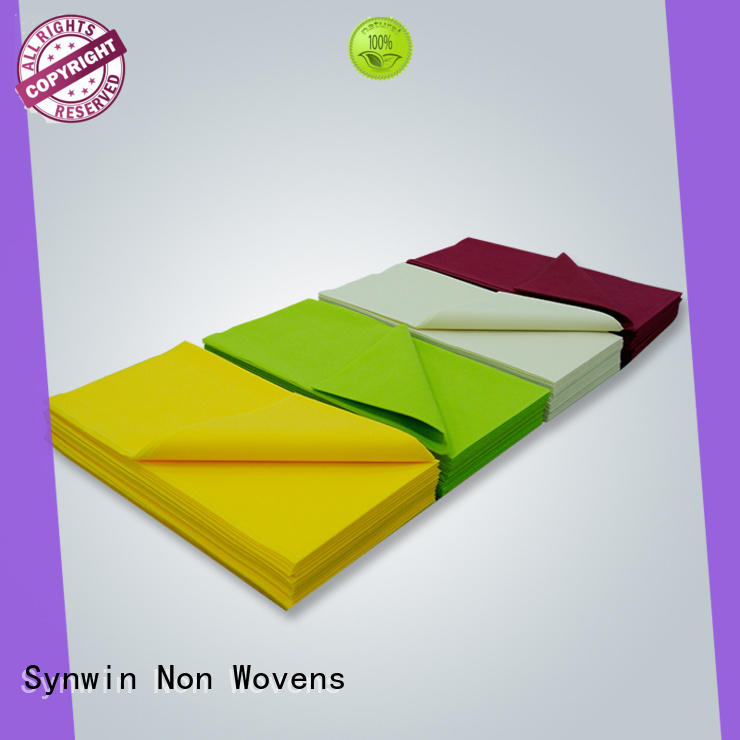 Synwin Non Wovens tabel round table covers design for tablecloth