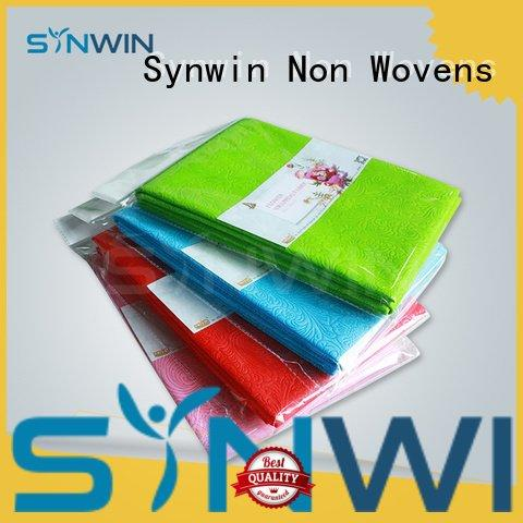christmas gift wrapping paper flower fabric wrapping Synwin Non Wovens