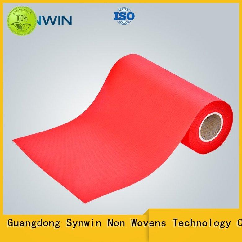 Synwin spunbond polyester factory for tablecloth