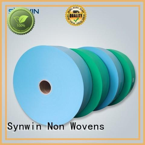 perforated wide on OEM pp woven fabric Synwin Non Wovens
