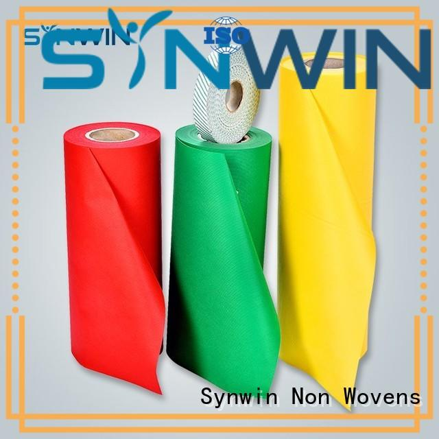 Synwin virgin pp non woven fabric manufacturer for packaging