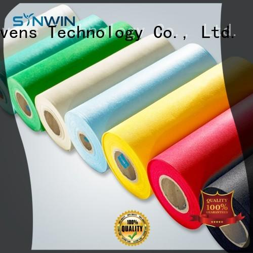 bedsheet mat colorful pp woven fabric Synwin Non Wovens Brand company