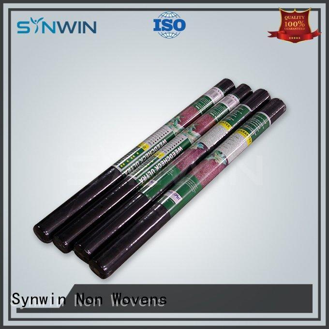 non woven polypropylene landscape fabric block weed control fabric Synwin Non Wovens Brand