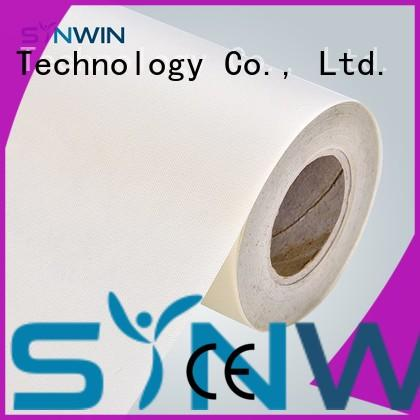 Synwin raw spunbond polypropylene with good price for tablecloth